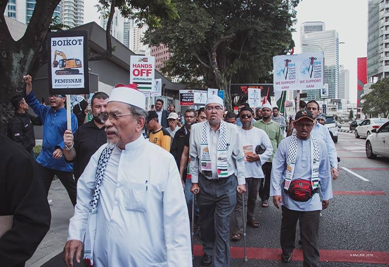 Solidariti Great Return March dari Malaysia