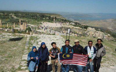 Solidariti di sempadan Jordan-Palestin