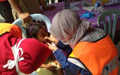 Program saringan kesihatan Rohingya di Klang