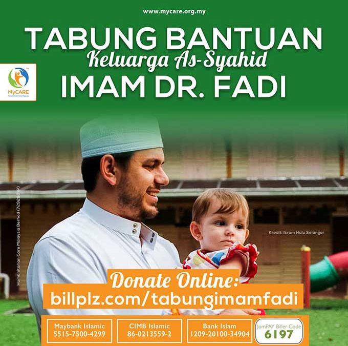 Tabung Bantuan Keluarga As-Syahid Imam Dr. Fadi