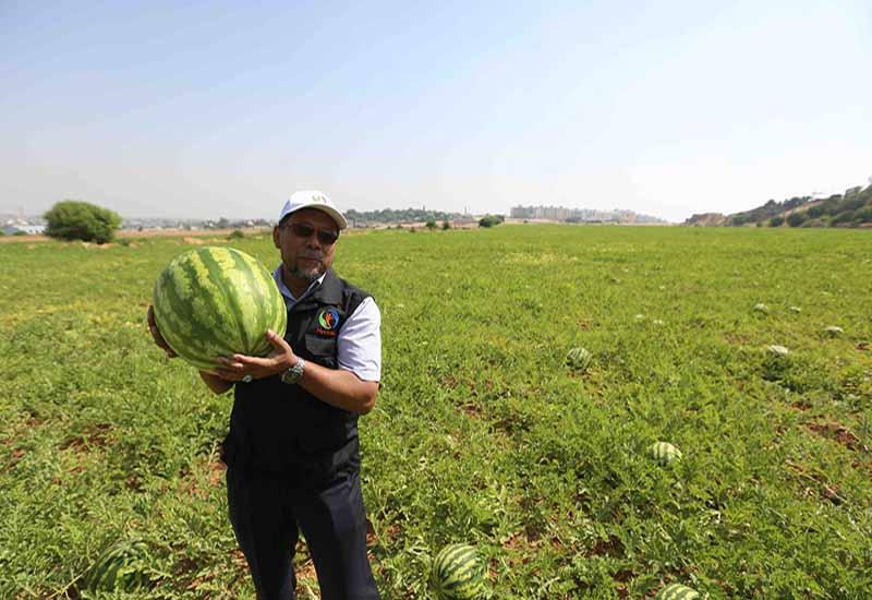 Ladang Pertanian MyCARE di Beit Hanoun, Gaza