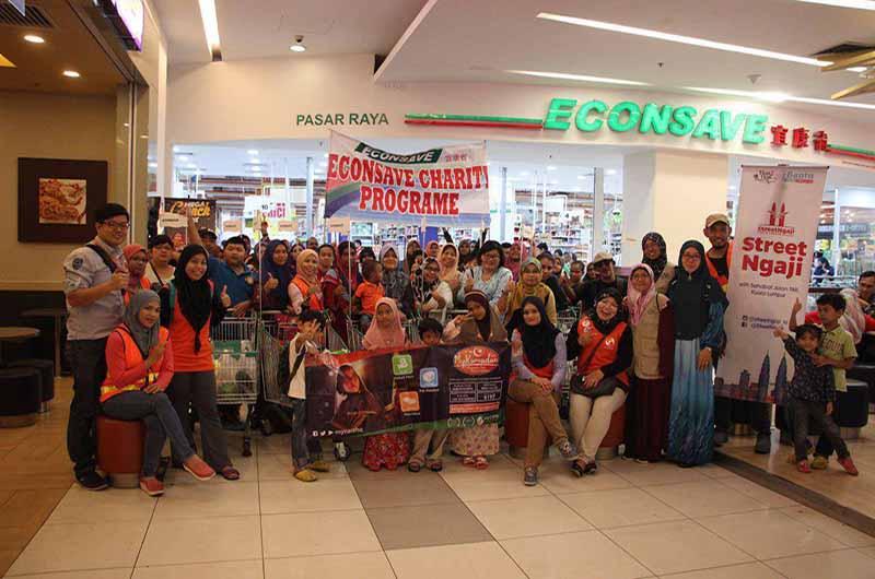 MyCARE & Econsave anjur Shopping Raya