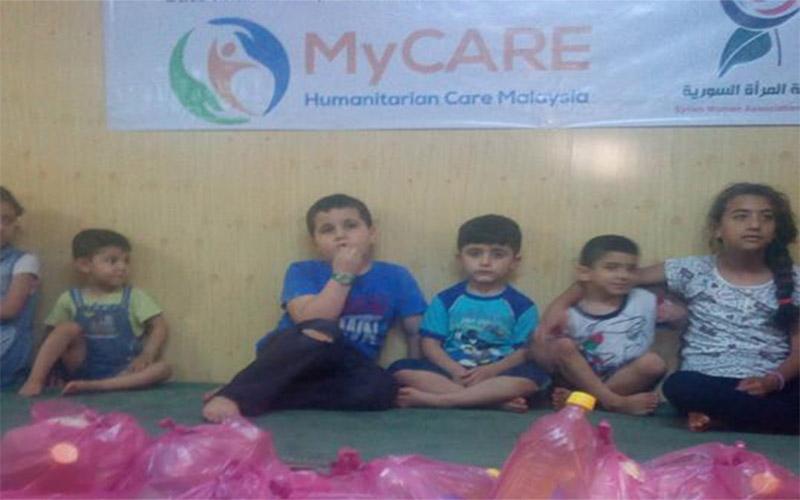 Iftar Perdana untuk balu, anak yatim & warga miskin di Gaziantep