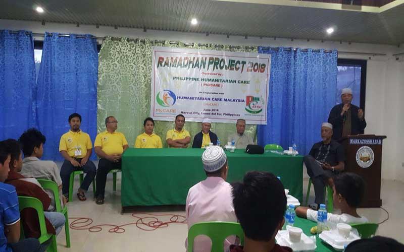 Bantuan iftar kepada mangsa Battle of Marawi, Filipina