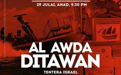 Al-Awda Ditawan Tentera Israel