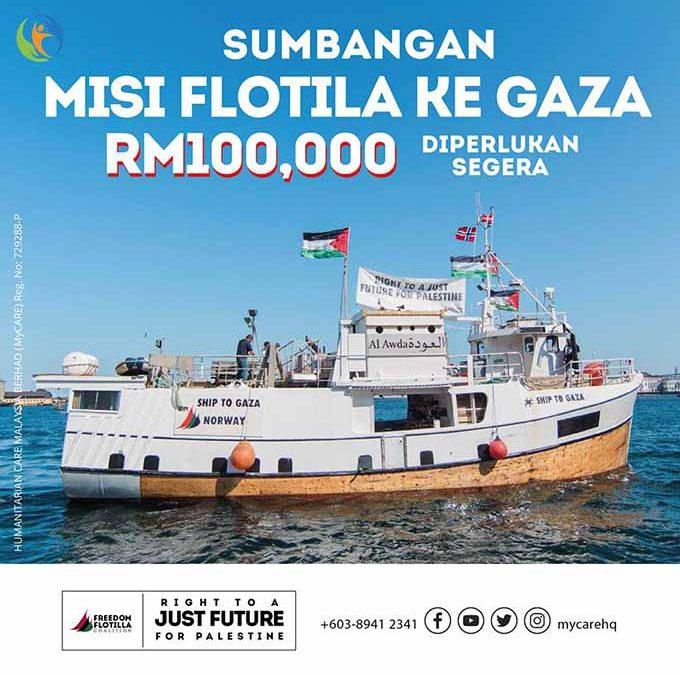 Sumbangan Misi Flotila ke Gaza