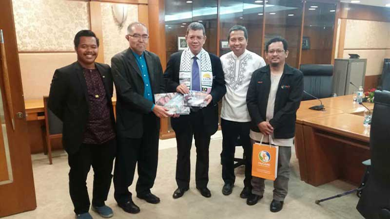 Pertemuan MyCARE dengan Menteri Luar Negeri