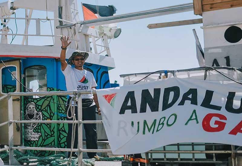 Al-Awda send-off in Napoli