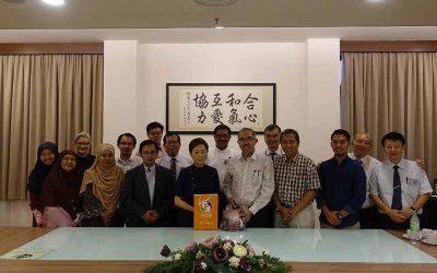 Jemputan kunjungan Taiwan Tzu Chi Foundation Malaysia kepada MyCARE