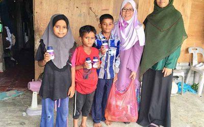 MyCARE santuni pelarian Rohingya di Pulau Langkawi