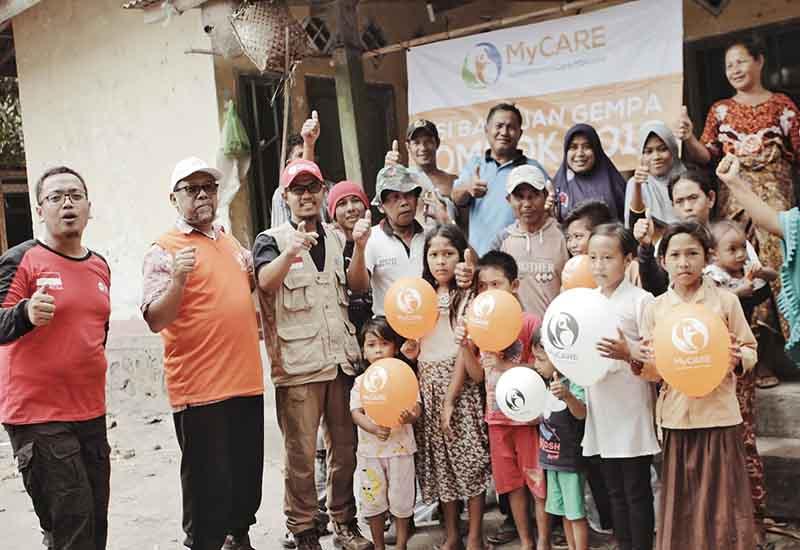 Penduduk Kepala Dusun Timburan gembira terima bantuan