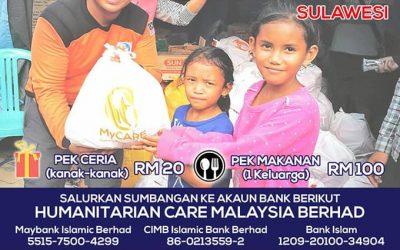 Tabung Gempa Tsunami Sulawesi