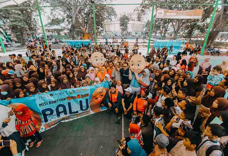 Hari pertama – Upin & Ipin di Palu