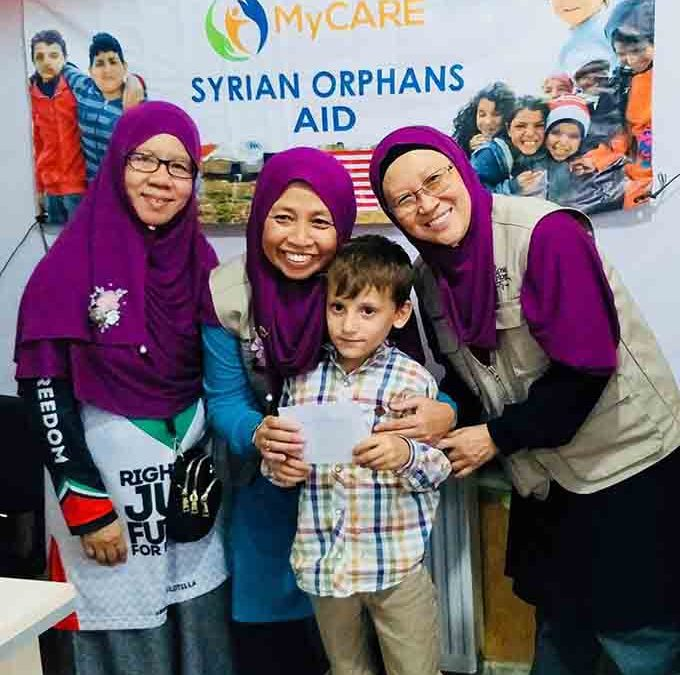 Sumbangan & penajaan berterusan buat anak-anak yatim MyCARE