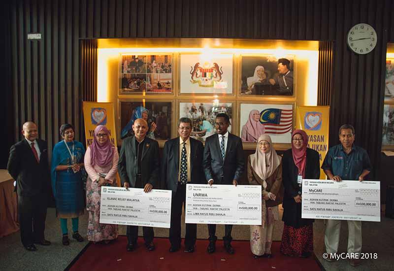MyCARE terima RM100,000 dari Yayasan Kebajikan Negara