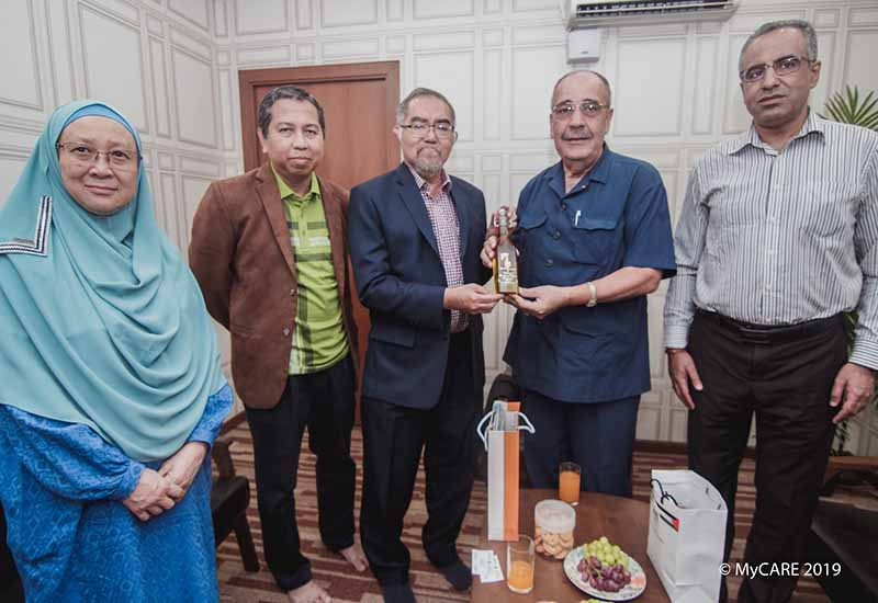 Palestine Ambassador pays a courtesy call to MyCARE