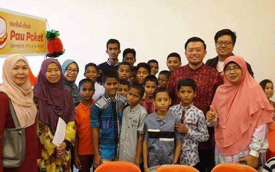 KLSCAH raikan pelajar Rohingya sempena Tahun Baru Cina