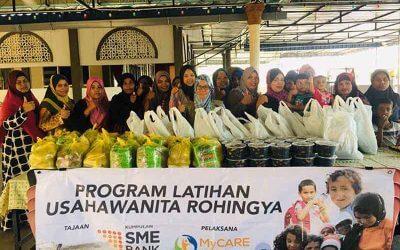 Program usahawanita Rohingya tajaan SME Bank
