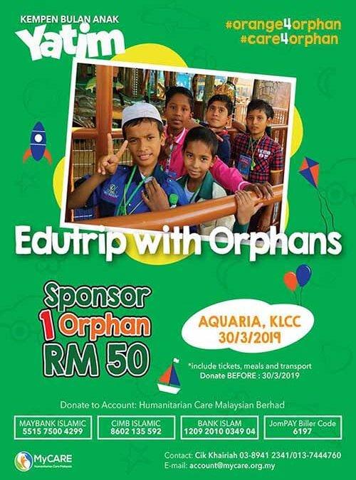 Edutrip with Orphans kembali dengan meneroka alam lautan pula!