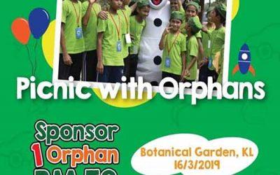 "Jom kita ""Picnic with Orphans"" MAC ini!"