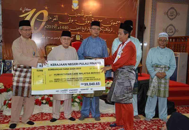 Sumbangan Kerajaan Negeri Pulau Pinang