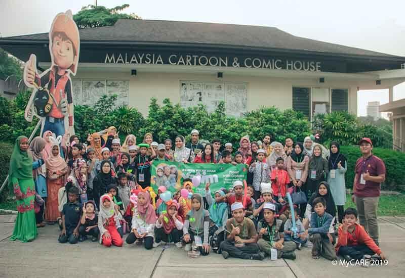 MyCARE raikan 50 anak-anak yatim, asnaf dan tahfiz di Taman Botani Perdana, KL