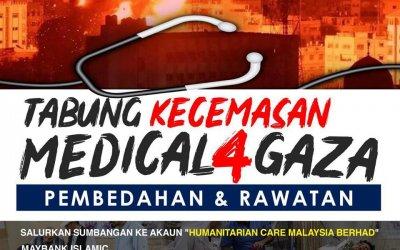Tabung Kecemasan Medical4Gaza