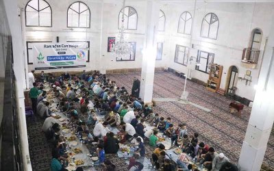 Iftar Jamaie di Maarrat al-Nu'man