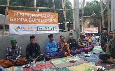 Rakyat Malaysia taja iftar untuk mangsa gempa