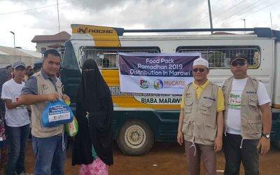 Pek makanan untuk Marawi