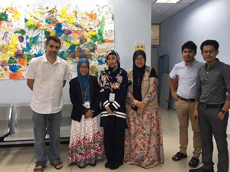 MyCARE bekerjasama dengan NGO Medecins Sans Frontieres (MSF)