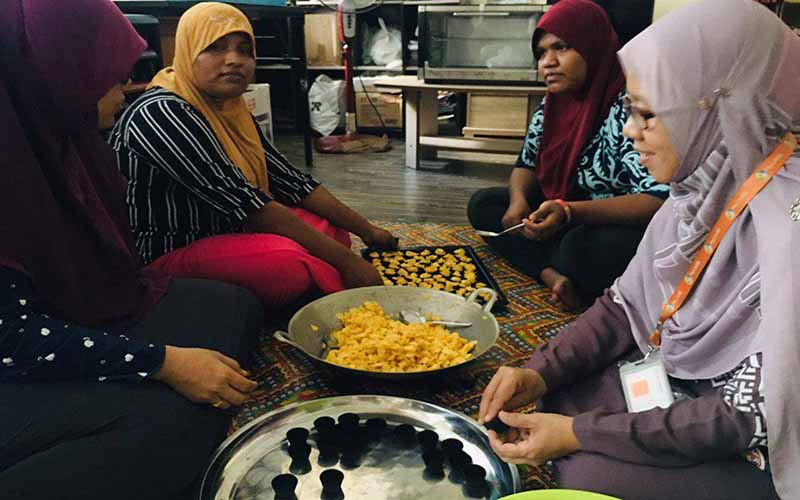 Projek Usahawanita Rohingya di Kedah & Pulau Pinang diteruskan