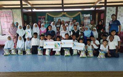 Laporan program agihan sumbangan MyRamadan