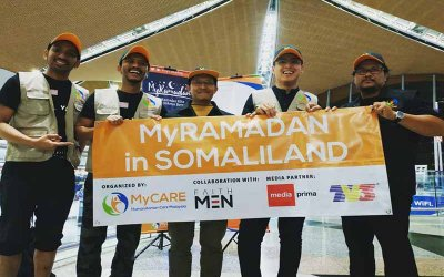MyCARE hantar misi bantuan Ramadan ke Somaliland