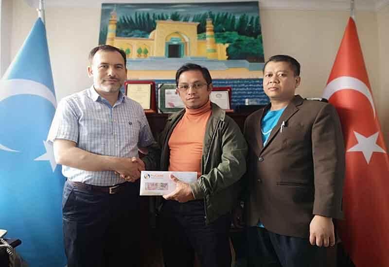 MyCARE menyumbang kepada asnaf Uighur di Istanbul