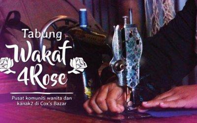 Wakaf4Rose Pusat Komuniti Wanita & Kanak-Kanak Rohingya