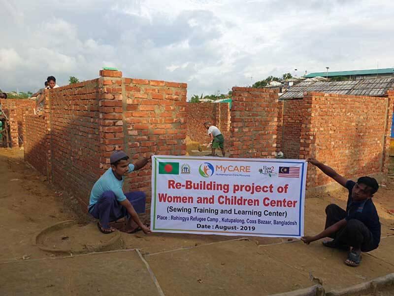 Pusat komuniti yang lebih selesa di Cox Bazar
