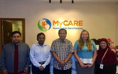Kunjungan UNTILs ke pejabat MyCARE