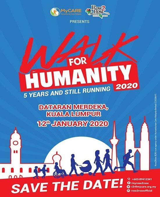 Pendaftaran Walk4Humanity 2020