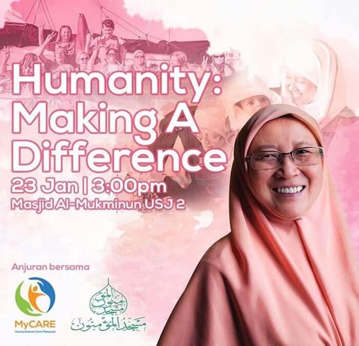 Ceramah kemanusiaan bersama Dr. Fauziah