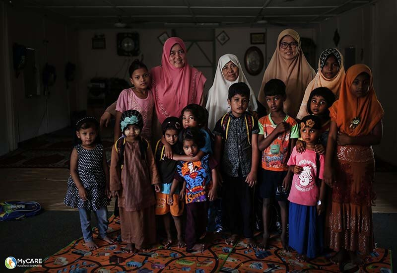 Rohingya Homeschooling : Ajari kami membaca, menulis dan mengira