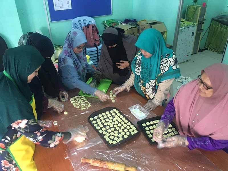 Program usaha wanita di PPR HICOM
