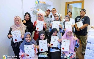 Training of Volunteers sesi pertama tahun ini