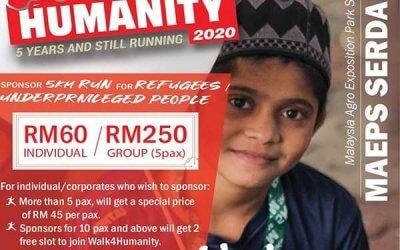 Walk4Humanity 2020 Sponsorship Invitation