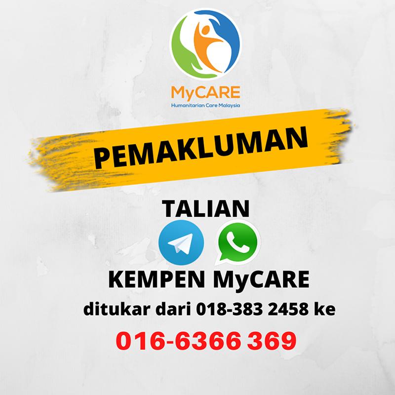 Nombor baru Kempen MyCARE