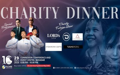 Majlis Makan Malam Amal Ulang Tahun HUMANITARIAN CARE MALAYSIA (MyCARE) ke-10