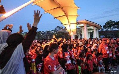 Larian kemanusiaan W4H 2020 tarik minat peserta