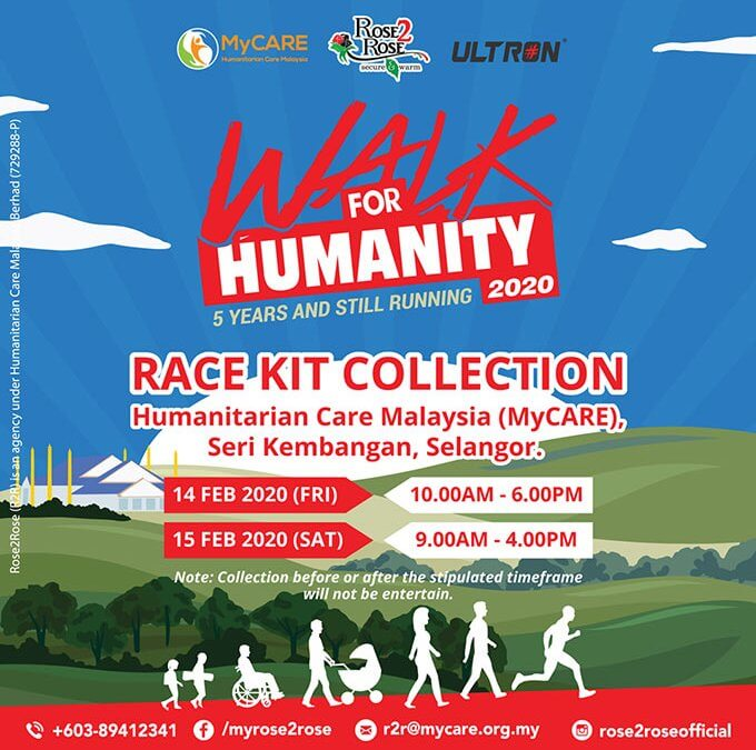 Collect your race kits!