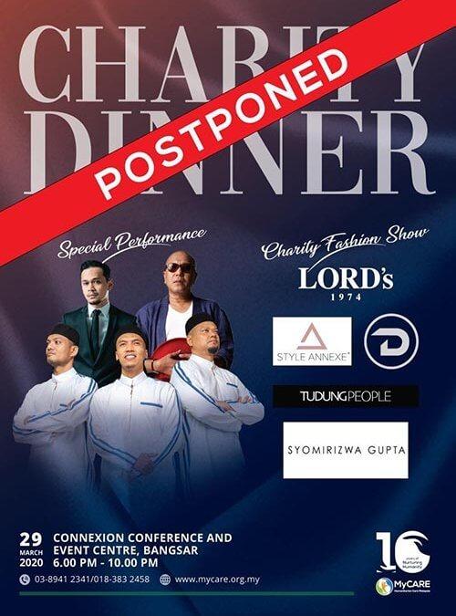 Charity dinner postponed