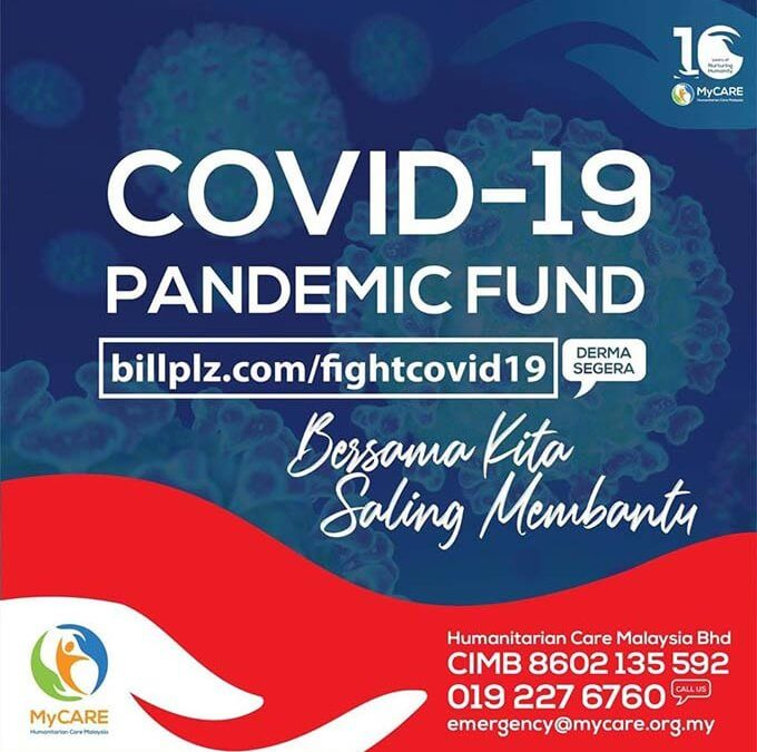 MyCARE lancar Tabung Bantuan Kecemasan COVID-19